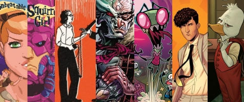 Best Comics of 2015
