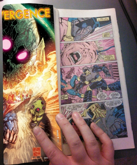 DC's Convergence #0 is actually just a reprint of Armageddon 2001