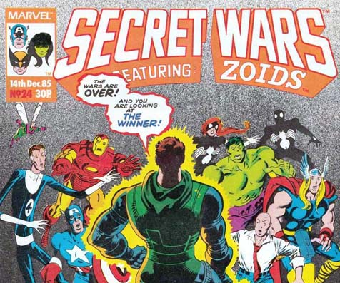 Revisiting Secret Wars