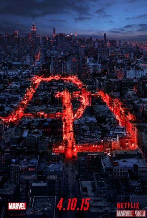 The teaser poster for Netflix's Daredevil is very Christopher Nolan (but also very cool)