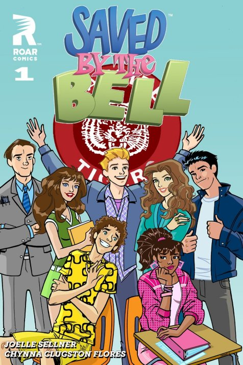 There's a Saved By The Bell comic drawn by Chynna Clugston and how didn't I know this before?